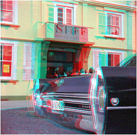 Rob' Connely's Shaggin Wagon. 3-D Photography by Marc Dawson.