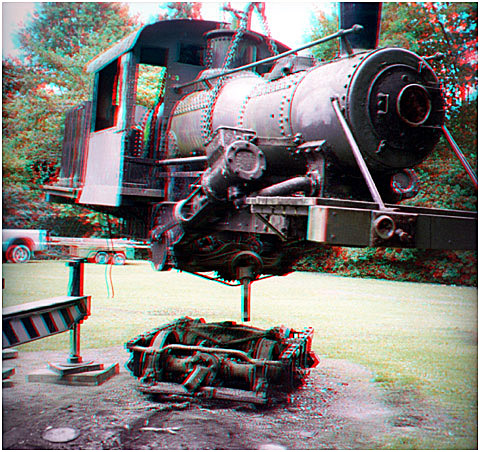 Climax 1317 lifted. 3-D Photography by Marc' Dawson.