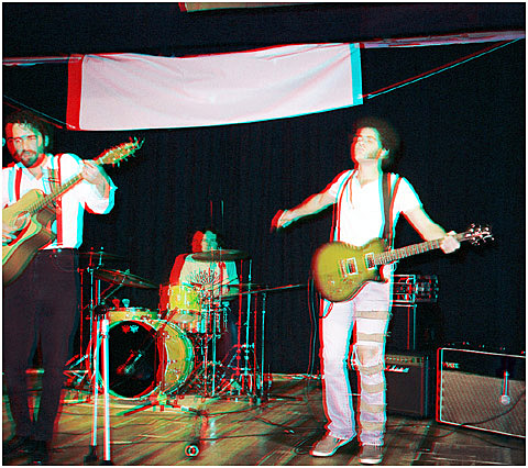 Original Artists. The Old Porch Tints. 3-D Photography by Marc Dawson.