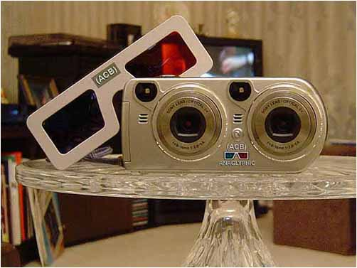 Patented (ACB) 3-D Anaglyphic Camera