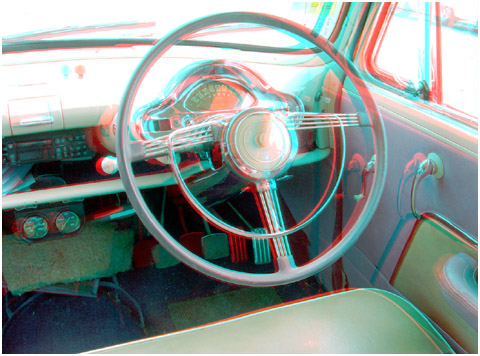 Interior of a Mark 1 Zephyr. 3-D Photography by Marc Dawson.