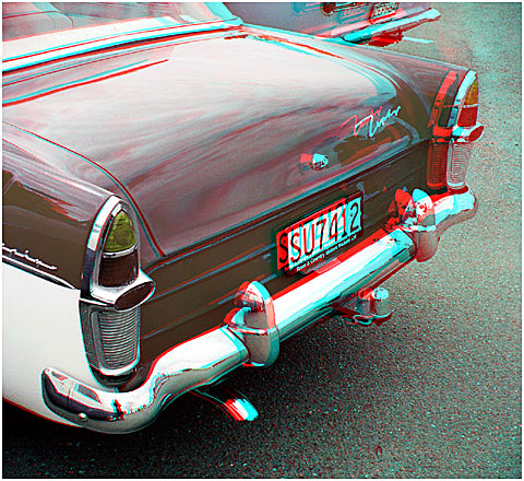 Tail end of a Mark 2 Zephyr. 3-D Photography by Marc Dawson.