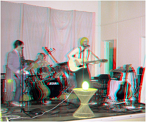 The NatLee Band Debut Performance at Pirongia Hall. 3-D Photography by Marc Dawson.
